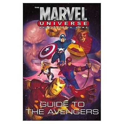 The Marvel Universe Roleplaying Game: Guide to Hulk and the Avengers 9780785111580