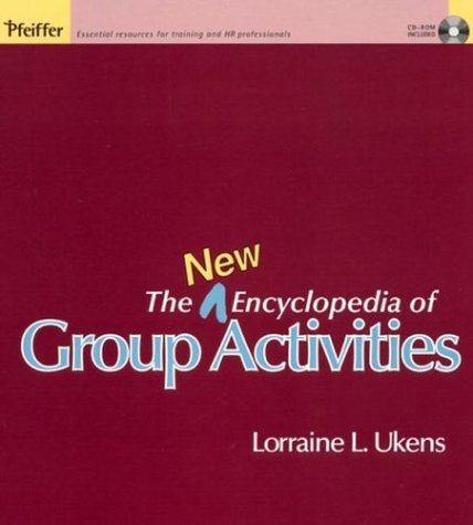The New Encyclopedia of Group Activities [With CDROM] 9780787968540