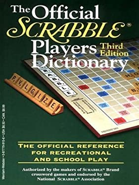 The Official Scrabble Players Dictionary 9780786247738