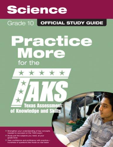 The Official Taks Study Guide for Grade 10 Science 9780789737649