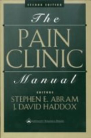 The Pain Clinic Manual 9780781712538