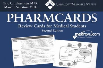 The Pharmcards: Review Cards for Medical Students 9780781734011