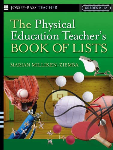 The Physical Education Teacher's Book of Lists 9780787978877