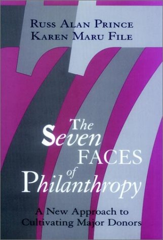 The Seven Faces of Philanthropy: A New Approach to Cultivating Major Donors 9780787900083