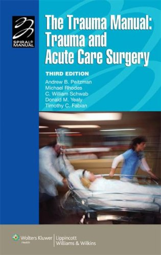 The Trauma Manual: Trauma and Acute Care Surgery 9780781762755