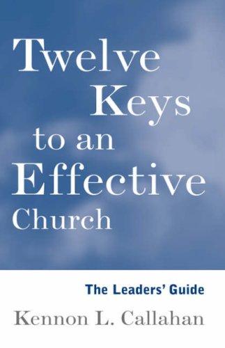 The Twelve Keys Leaders' Guide 9780787938703