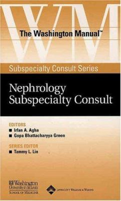 The Washington Manual Nephrology Subspeciality Consult 9780781743778
