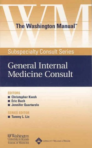 The Washington Manual(r) General Internal Medicine Consult 9780781743693
