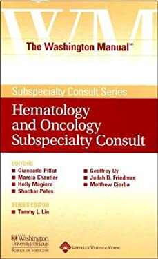 The Washington Manual(r) Hematology and Oncology Subspecialty Consult 9780781743754