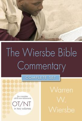 The Wiersbe Bible Commentary Complete Set [With CDROM]