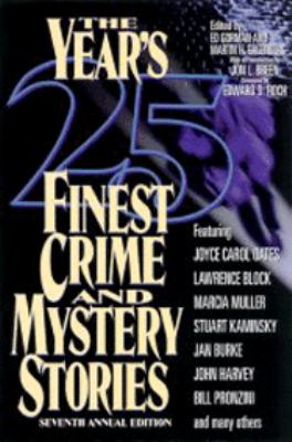 The Year's 25 Finest Crime and Mystery Stories 9780786705719