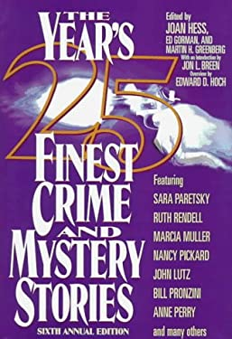 The Year's 25 Finest Crime and Mystery Stories 9780786704958