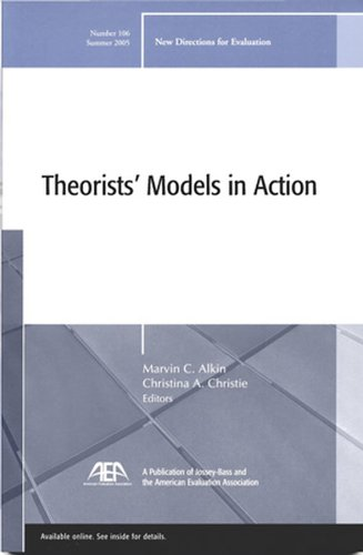Theorists' Models in Action: New Directions for Evaluation 9780787982126