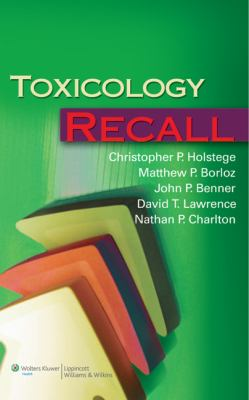 Toxicology Recall 9780781790895