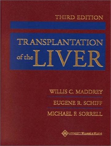 Transplantation of the Liver 9780781720397
