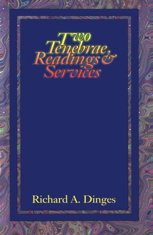 Two Tenebrae Readings and Services 9780788007576