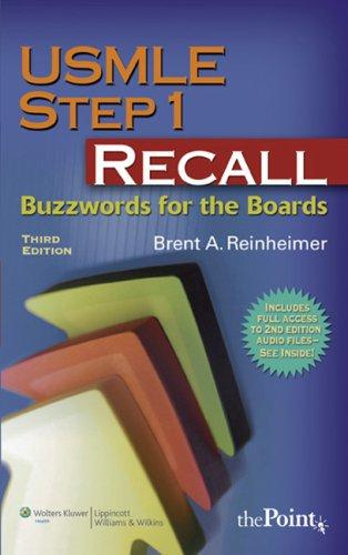 USMLE Step 1 Recall: Buzzwords for the Boards - 3rd Edition