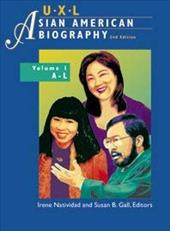 UXL Asian American Biography Set