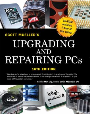 Upgrading and Repairing PCs, Softcover [With CDROM] 9780789732101