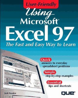 Using Excel 97 9780789709554