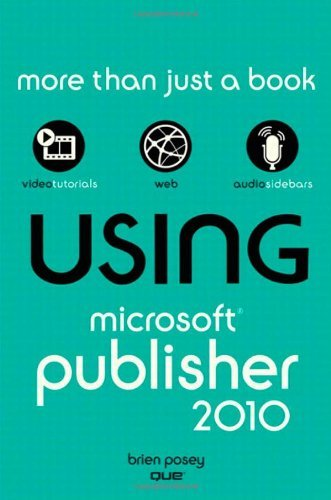 Using Microsoft Publisher 2010 9780789742964