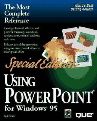 Using PowerPoint for Windows 95 9780789704641