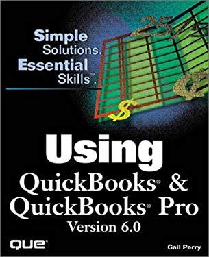 Using QuickBooks & QuickBooks Pro 6.0 9780789716606