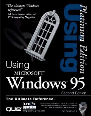 Using Windows 95 [With (2) Contains Winbench 97 Tests, Technet Sampler...] 9780789713834