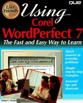 Using WordPerfect for Windows 95 9780789701411