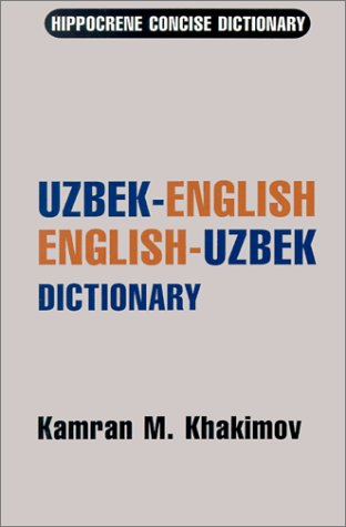 Uzbek-English/ English-Uzbek Concise Dictionary 9780781801652