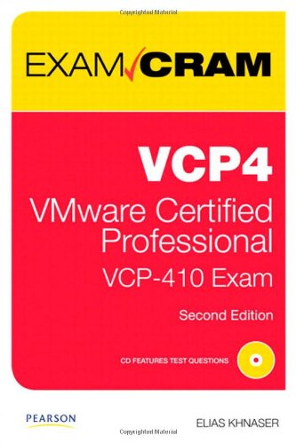 VCP4: VMware Certified Professional [With CDROM] 9780789740564