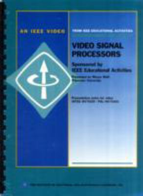 Video Signal Processors 9780780353077