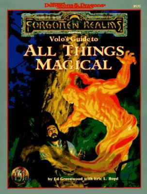 Volo's Guide to All Things Magical: Forgotten Realms Accessory