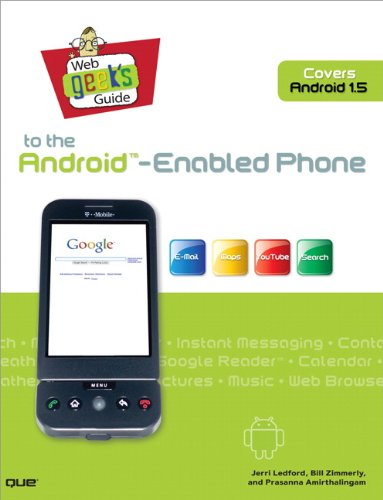 Web Geek's Guide to the Android-Enabled Phone 9780789739728