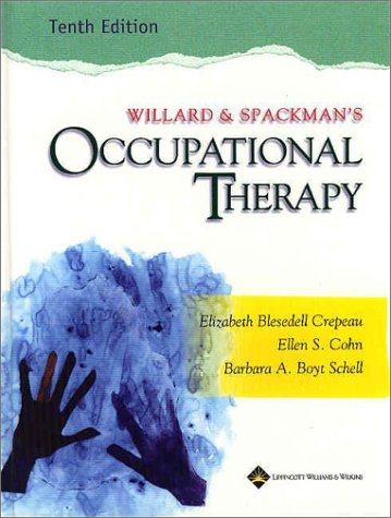 Willard and Spackman's Occupational Therapy 9780781727983