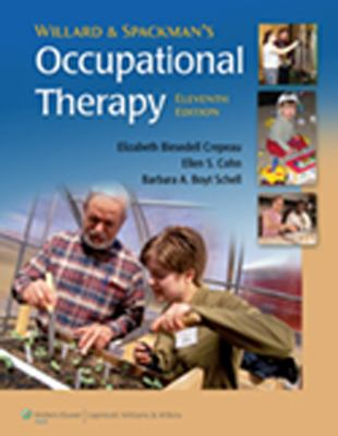 Willard and Spackman's Occupational Therapy 9780781760041