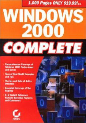 Windows 2000 Complete 9780782127218