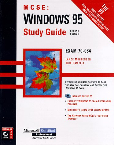 Windows 95 Study Guide [With Includes a Windows 95 Test-Simulation Program...] 9780782122565