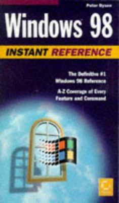 Windows 98 Instant Reference 9780782121919
