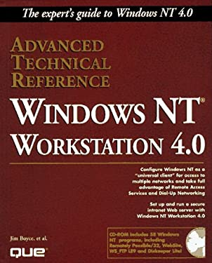 Windows NT 4.0 Workstation Advanced Technical Reference, with CD-ROM 9780789708632