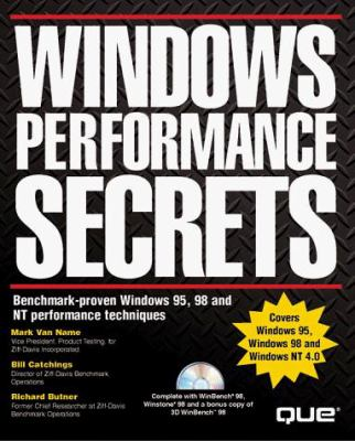 Windows Performance Secrets [With (2) Contains Winbench & Winstone] 9780789717528