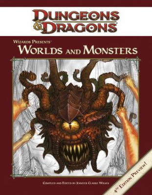 Wizards Presents Worlds and Monsters 9780786948024