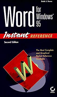 Word for Windows 95 Instant Reference 9780782117660