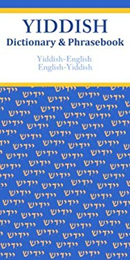 Yiddish-English/English-Yiddish Dictionary & Phrasebook 9780781812986