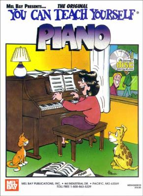 You Can Teach Yourself Piano [With CD] 9780786644018
