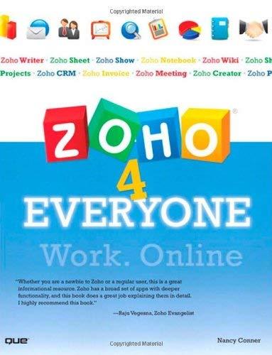 Zoho 4 Everyone 9780789739377