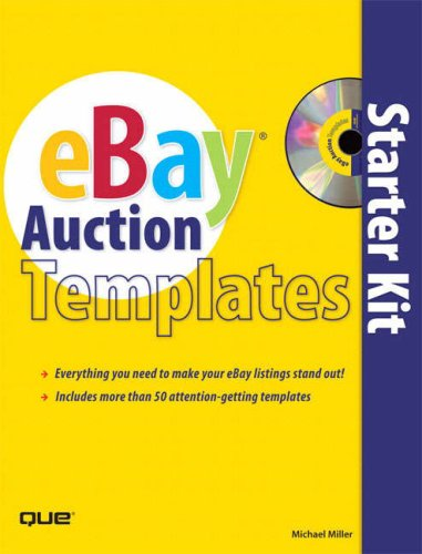 eBay Auction Templates Starter Kit [With CDROM] 9780789735638
