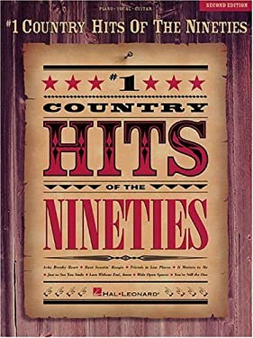 #1 Country Hits of the Nineties 9780793535606