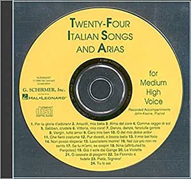 24 Italian Songs and Arias of the 17th and 18th Centuries 9780793581009