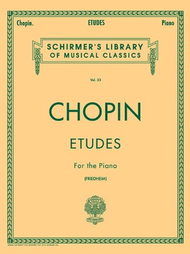 Etudes (Friedheim): Piano Solo 9780793553136